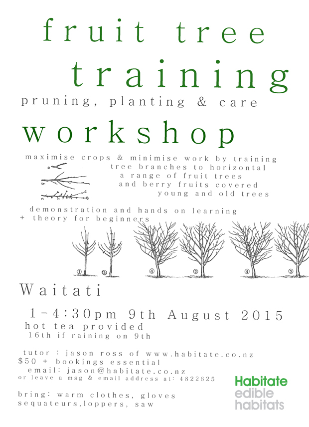 Fruit Tree Training & Pruning Workshop 2015