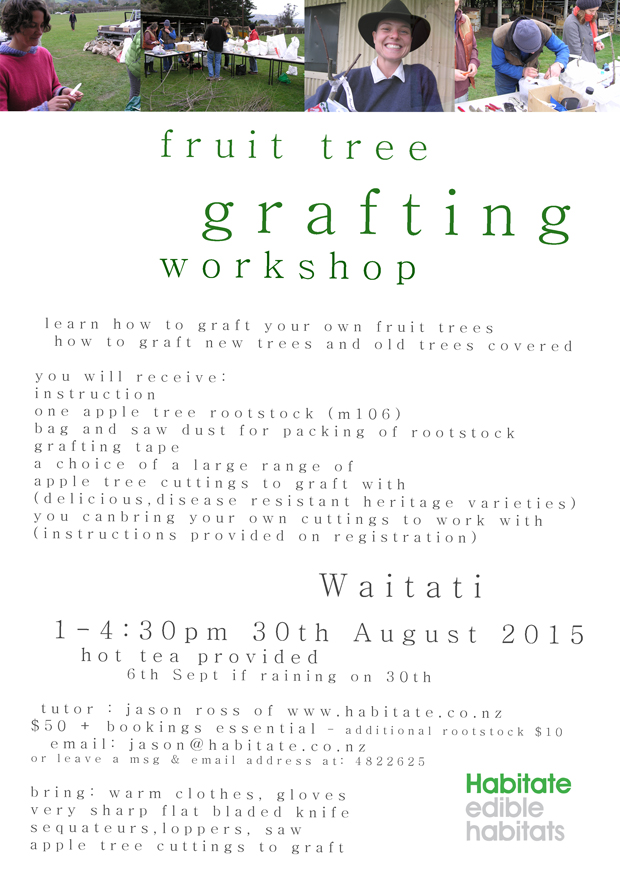 Grafting Workshop 2015