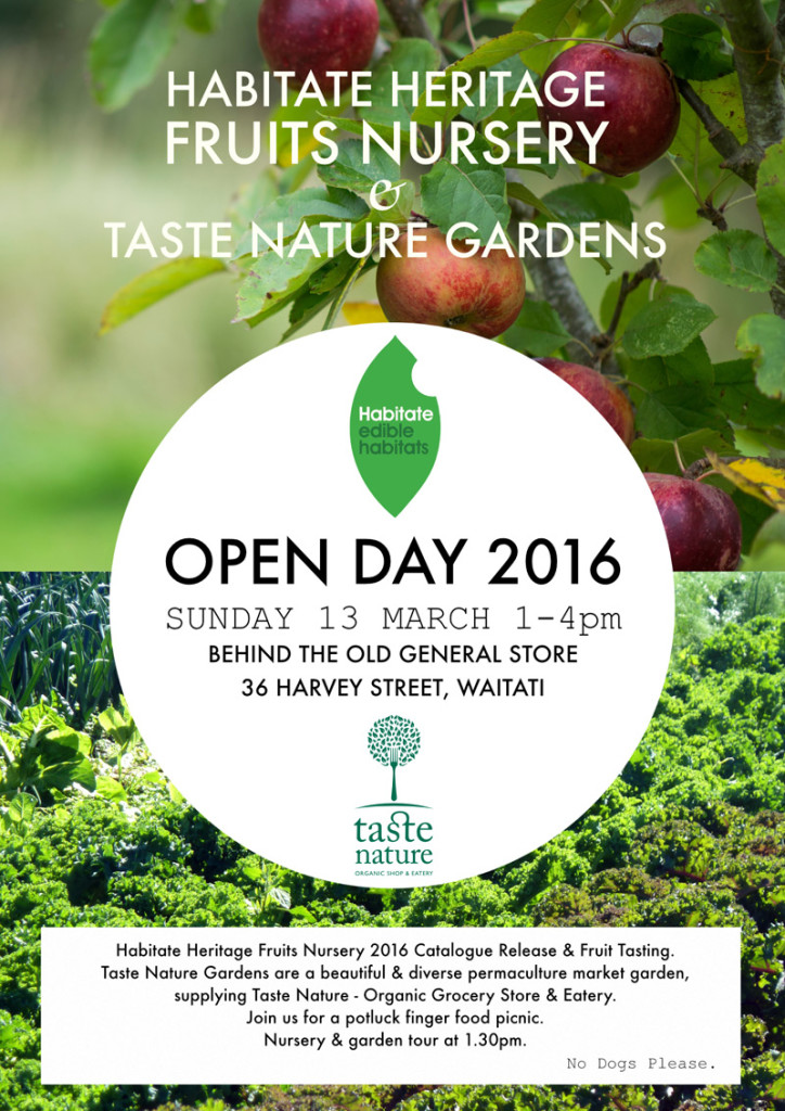 Habitate Nursery & Taste Nature Gardens Open Day 2016