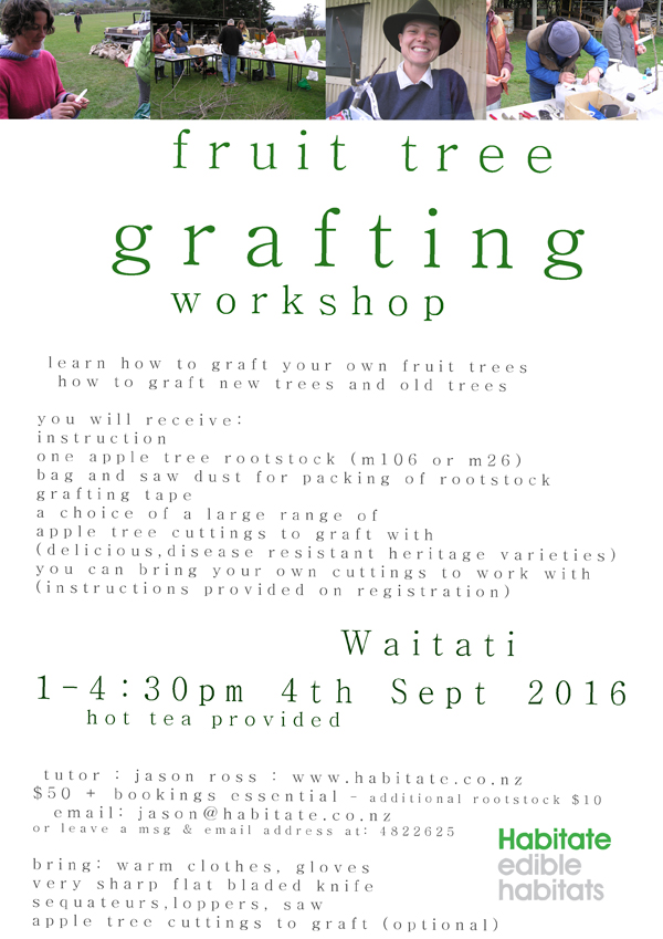Fruit Tree Grafting Workshop