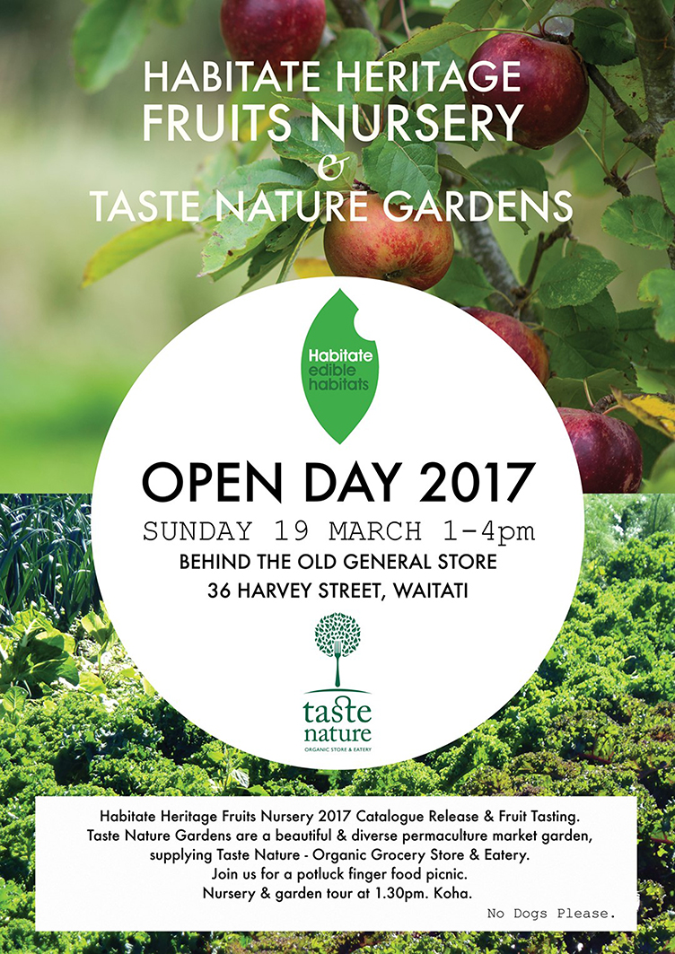 Habitate Nursery & Taste Nature Gardens Open Day 2017